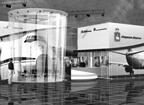 Дизайн выставочного стенда бизнес класса компании «Пермские Моторы».