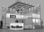Дизайн-проект выставочного стенда для «Ступинской металлургической компании»