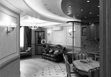 Дизайн интерьера квартиры в современном классическом стиле