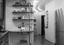 Дизайн интерьера московской квартиры-студии