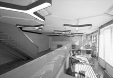 Дизайн-проект интерьера офиса московской строительной компании.