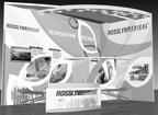 Дизайн выставочного стенда бизнес класса компании ROSSLYN MEDICAL.